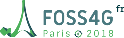 FOSS4G-fr conference logo